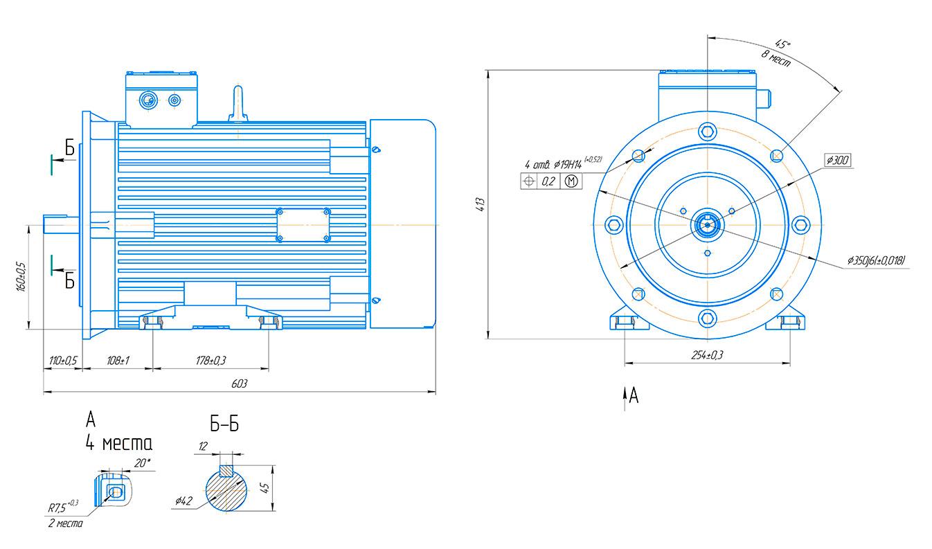 Синхронный двигатель на постоянных магнитах Россия. Класс энергоэффективности IE4