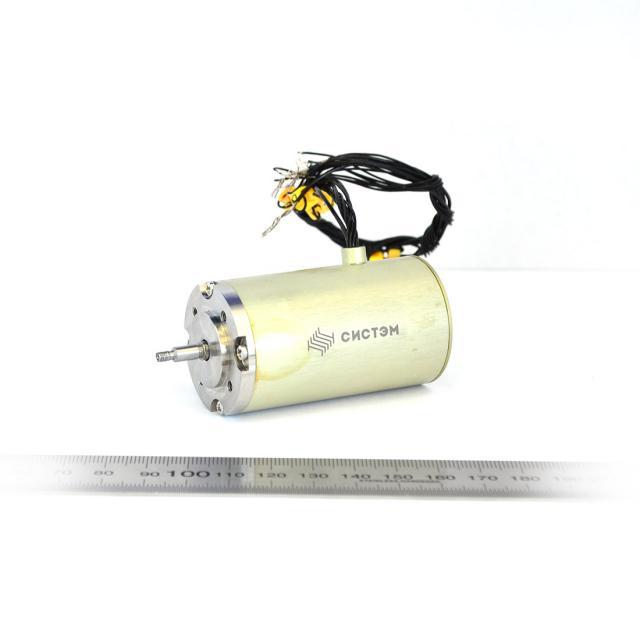 Разработка бесконтактных электродвигателей постоянного тока, испытания